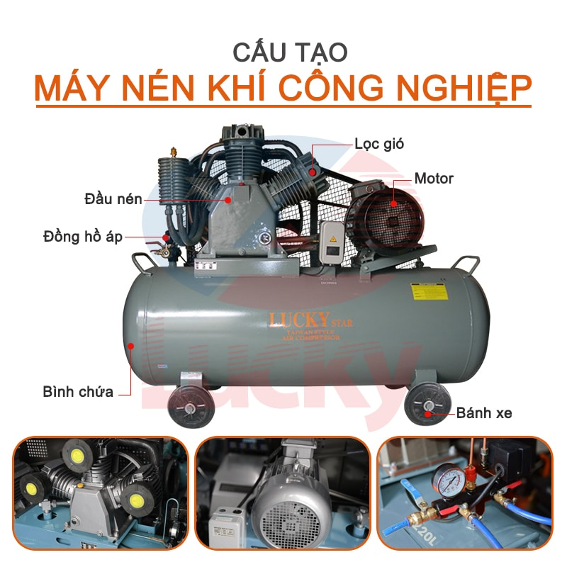 Giá máy nén khí công nghiệp