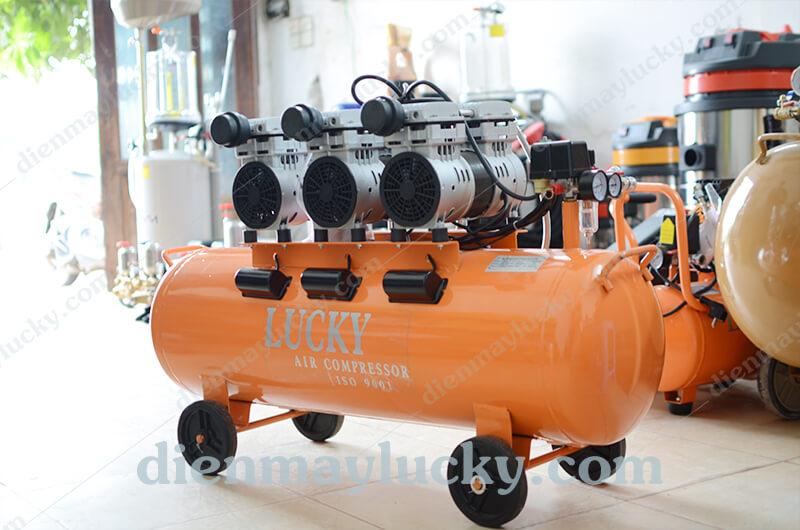 máy nén khí không dầu 90l
