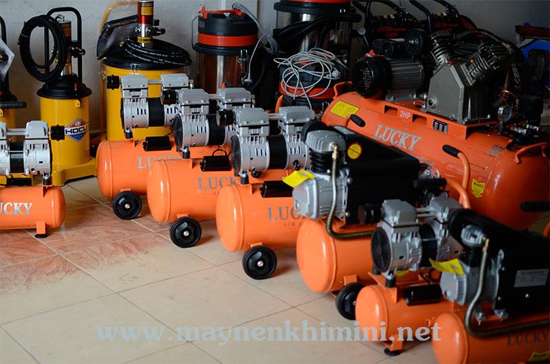 Máy nén khí không dầu 24 lít chính hãng - Điện máy Lucky