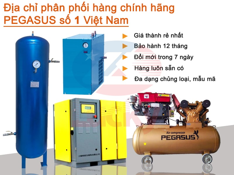 Máy nén khí chạy dầu Diesel
