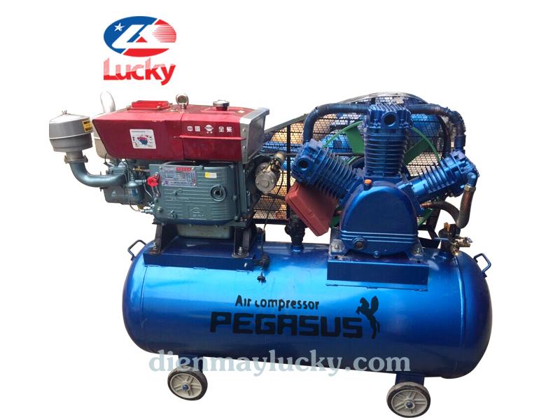Máy nén khí chạy dầu Diesel 330L