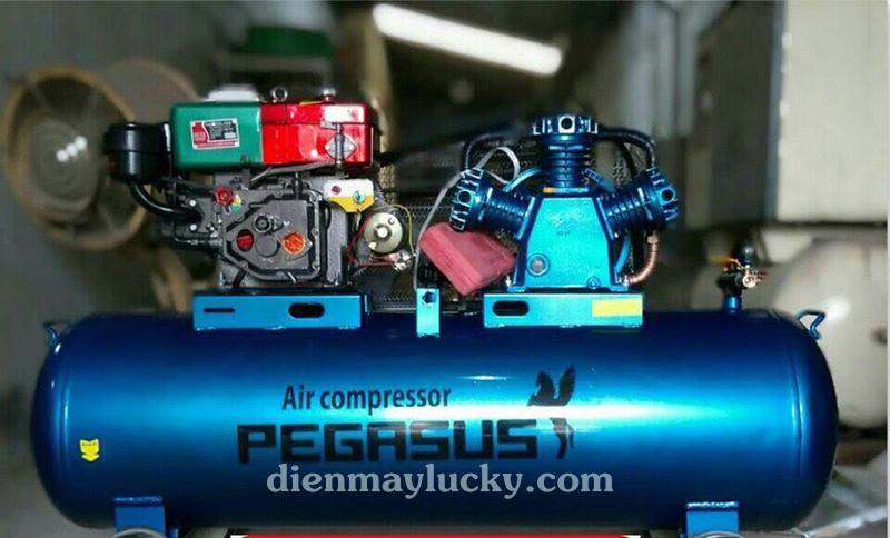 Máy nén khí chạy bằng dầu Diesel Pegasus