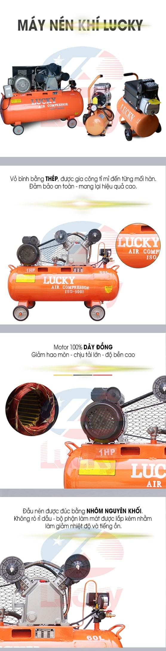 máy nén khí lucky