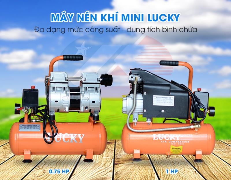 máy nén khí mini lucky