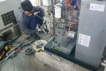 Nguyên nhân máy nén khí bị xì hơi, cách khắc phục đơn giản!