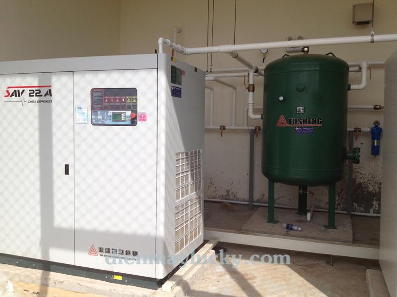 hệ thống khí nén trong nhà máy