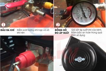 Hướng dẫn cách hiệu chỉnh relay áp suất của máy nén khí chi tiết!