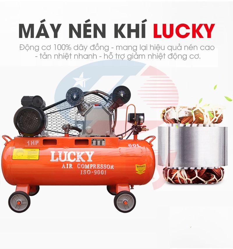 Máy nén khí khoan đá Lucky 2