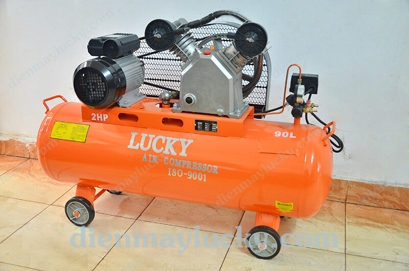 máy nén khí piston Lucky