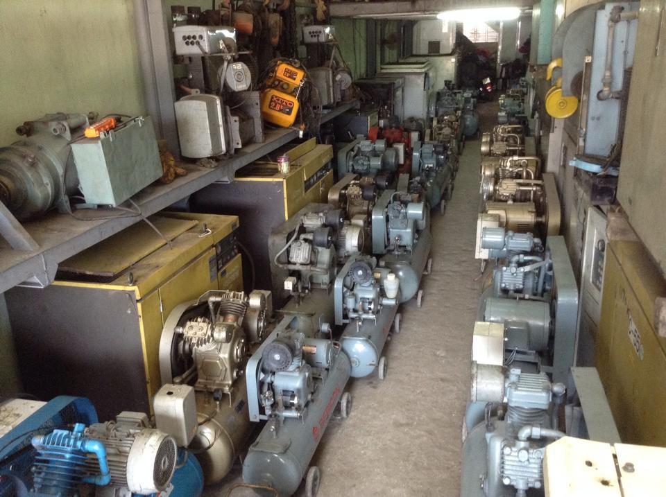 máy nén khí công nghiệp cũ