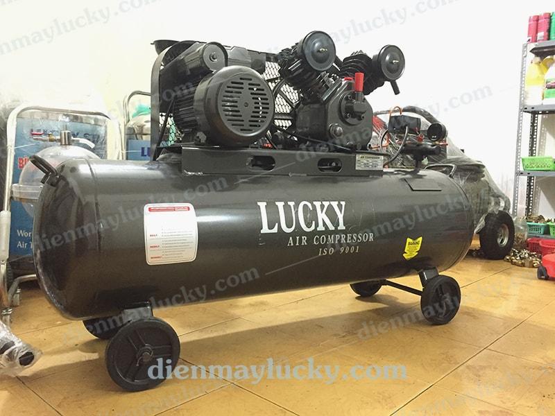 máy nén khí công nghiệp Lucky 120 lít