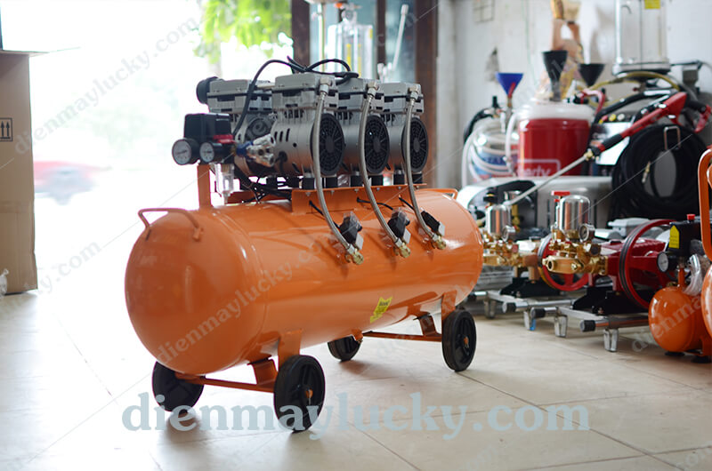 máy bơm hơi không dầu