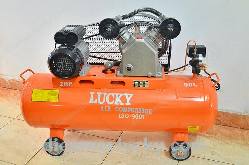 Máy nén khí piston Lucky 90L