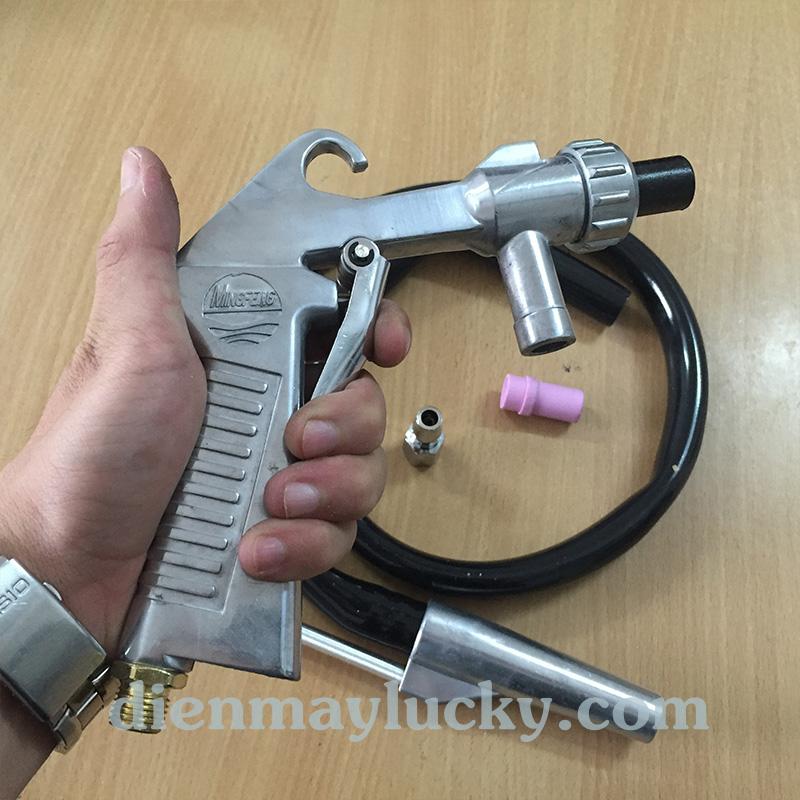 súng phun cát