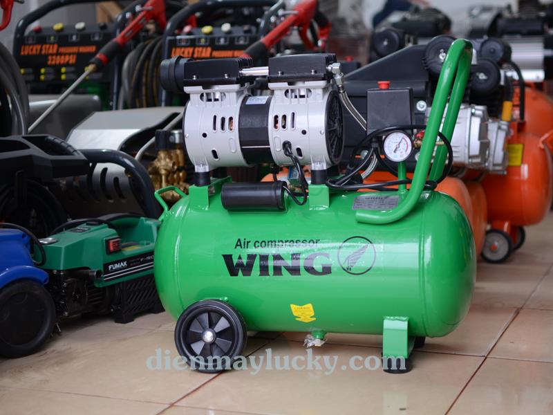 máy nén khí không dầu wing 25L
