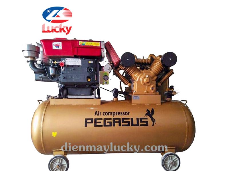 Máy nén khí chạy bằng dầu Diesel 330L