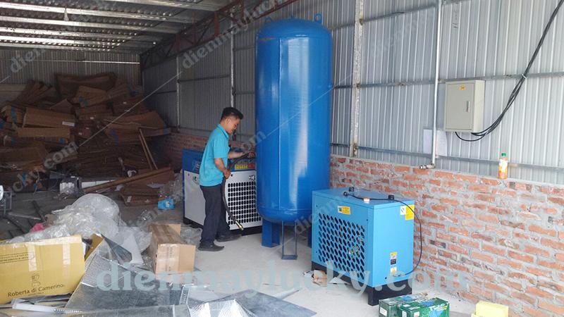 máy sấy khô khí nén