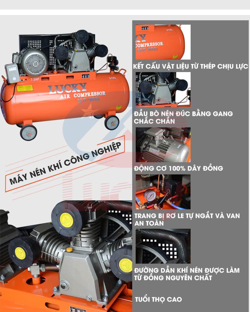 máy nén khí công nghiệp công suất lớn