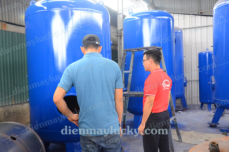 bình chứa khí nén