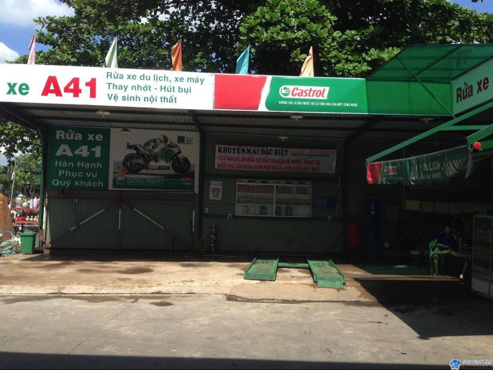 mở tiệm rửa xe cần những gì