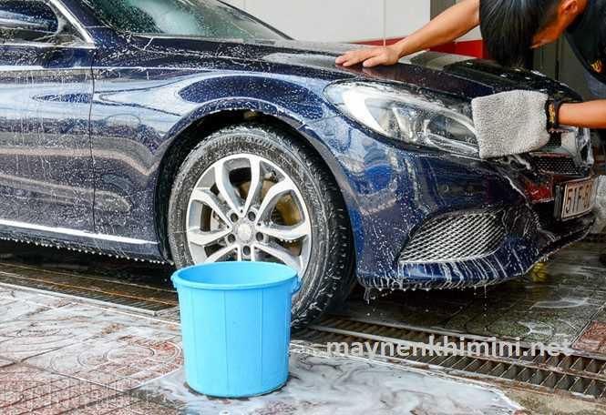 hóa chất rửa xe