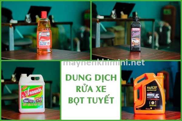 [BẬT MÍ] Nên sử dụng hóa chất gì để rửa xe