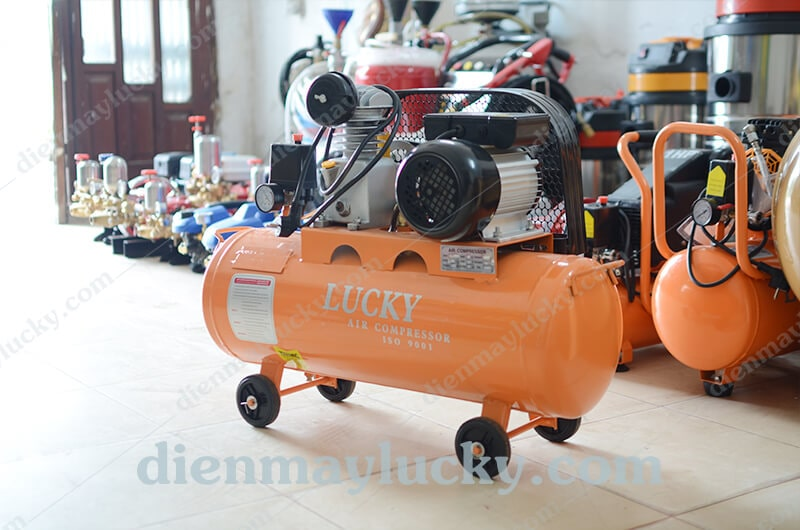máy nén khí piston 2 cấp