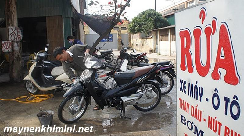 cửa hàng sửa xe máy