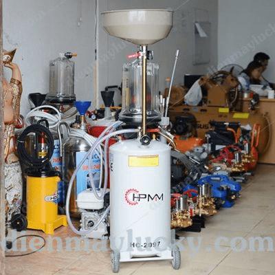 máy hút dầu thải bằng khí nén