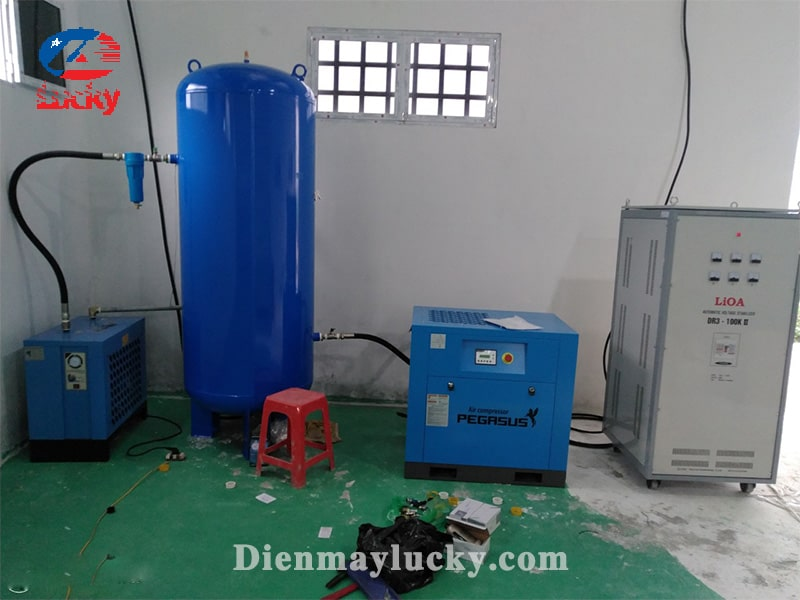 máy nén khí trục vít công suất nhỏ